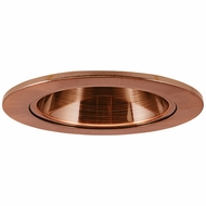 Elco EL2621CP Contemporary Copper Medium Base 3  Halogen Line Voltage Down Lighting Die Cast Adjustable Reflector Trim