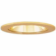 Elco EL2621GG Modern Gold Medium Base 3  Halogen Line Voltage Down Lighting Die Cast Adjustable Reflector Trim