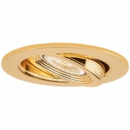 Elco EL2688G Modern Gold 3  Die Cast Adjustable Pull Down Recessed Lighting Trim