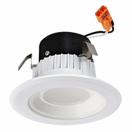 Elco EL311W White 3  Round LED Insert Baffle Recessed Lighting Trim