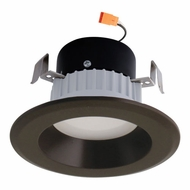 Elco EL312BZ White 3  Round LED Insert Reflector Recessed Lighting Trim