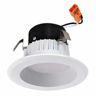 Elco EL312W White 3  Round LED Insert Reflector Recessed Lighting Trim