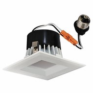 Elco EL33130W White 3  Square LED Insert Baffle Recessed Lighting Trim