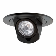 Elco EL397B Contemporary Black 3  LED Adjustable Pull-Down Insert