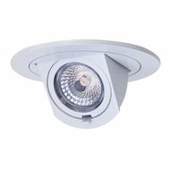 Elco EL397W Modern White 3  LED Adjustable Pull-Down Insert
