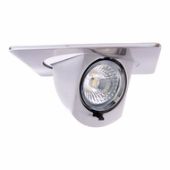 Elco EL447N Contemporary Nickel 4 LED Square Adjustable Pull-Down Insert