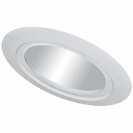 Elco EL561 Modern Medium Base 5  Sloped Recessed Light Reflector with Gimbal Trim