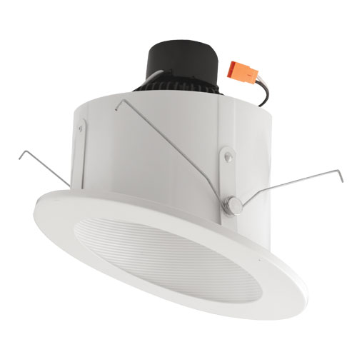 Elco el713w white 6 sloped ceiling led baffle inserts recessed elco el713w white 6nbsp sloped ceiling led baffle inserts recessed lighting fixture loading zoom mozeypictures Image collections