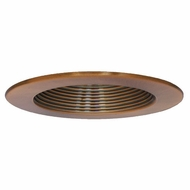 Elco EL7331CP Copper 6  Interchangeable Recessed Lighting Baffle Trim