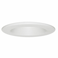 Elco EL7331W White 6  Interchangeable Recessed Lighting Baffle Trim