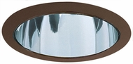 Elco ELA599CBZ Contemporary Clear with Bronze Medium Base 5  Recessed Light Reflector Trim
