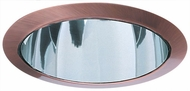 Elco ELA599CCP Modern Clear with Copper Medium Base 5  Down Lighting Reflector Trim