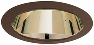 Elco ELA599GBZ Modern Gold with Bronze Medium Base 5  Recessed Lighting Reflector Trim