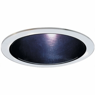 Elco ELA599SB Modern Black with White Medium Base 5  Down Lighting Reflector Trim