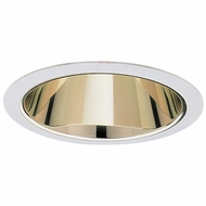 Elco ELA599SG Modern Gold with White Medium Base 5  Recessed Light Reflector Trim
