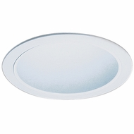 Elco ELA599SW Contemporary White Medium Base 5  Down Lighting Reflector Trim