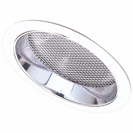 Elco ELS542-OM5W Modern Medium Base 5  Sloped Recessed Light Regressed Albalite with Reflector Trim
