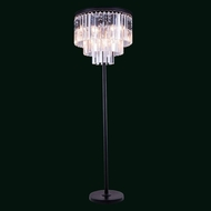 Elegant 1201FL20MB-RC Urban Mocha Brown Finish 63  Tall Floor Lighting
