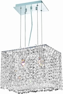Elegant 1291D14C-CL-RC Moda Royal Cut Chrome Island Lighting