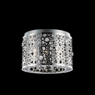 Elegant 2051F14C-RC Soho Chrome Finish 14  Wide Home Ceiling Lighting