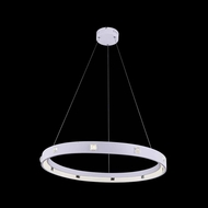 Elegant 2096D29WH11-RC Infinity 2.5 Tall Hanging Light Fixture