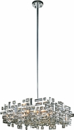 Elegant 2100D21C-RC Picasso Chrome 21  Hanging Lamp