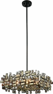 Elegant 2100D21DB-RC Picasso Dark Bronze 21  Hanging Light