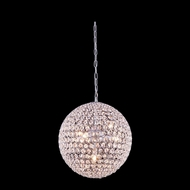 Elegant 2102D14C-RC Cabaret Crystal 14  Wide Drop Ceiling Light Fixture
