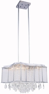 Elegant 2107DF20C-RC Aspen Chrome Halogen Lighting Pendant