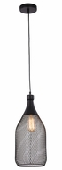 Elegant 2109D8BK Brighton Black Mini Pendant Lighting Fixture