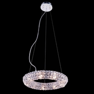 Elegant 2912D14C-RC Halo 14  Wide Hanging Lamp