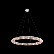Elegant 2912D32C-RC Halo 3  Tall Pendant Lighting Fixture