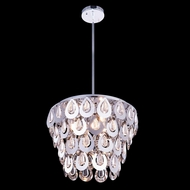 Elegant 2913D16C-RC Sophia 16  Wide Hanging Pendant Lighting