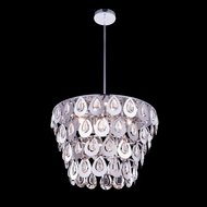 Elegant 2913D20C-RC Sophia 14  Tall Hanging Pendant Light