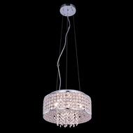 Elegant 2914D12C-RC Amelie 12  Wide Drum Pendant Hanging Light
