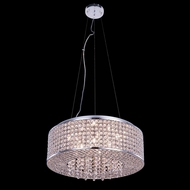 Elegant 2914D20C-RC Amelie 20  Wide Drum Drop Lighting