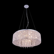 Elegant 2914D24C-RC Amelie 6.5  Tall Drum Drop Ceiling Lighting