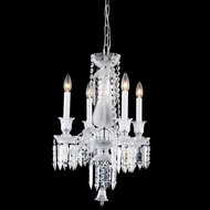 Elegant 8904D17C-EC Majestic Chrome Finish 17  Wide Mini Chandelier Light