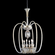 Elegant 8906D27GT-GT-EC Majestic Golden Teak Finish 27  Wide Pendant Light