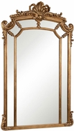 Elegant Lighting MR-3344 Antique Traditional 30  Wide Wall Mirror