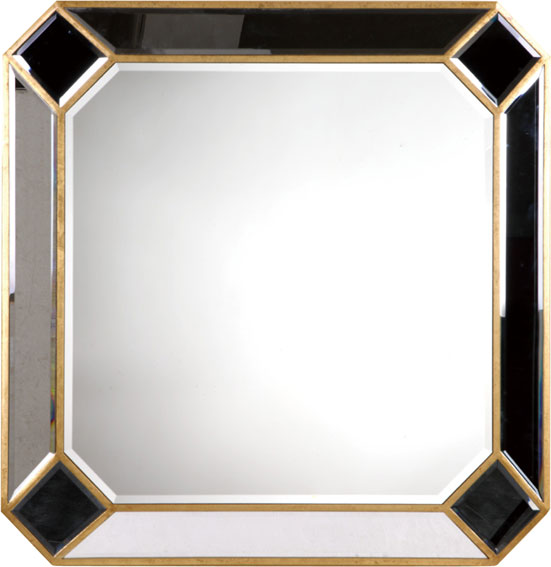 Elegant lighting mr3 1001gc camille gold finish 40 tall for Tall gold mirror