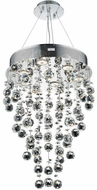 Elegant V2006D16C-RC Galaxy Chrome Halogen 16  Multi Lighting Pendant