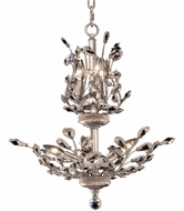 Elegant V2011D21C-RC Orchid Chrome Mini Chandelier Light