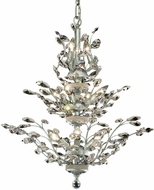 Elegant V2011D27C-RC Orchid Chrome 27  Chandelier Lamp