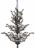 Elegant V2011D27DB-RC Orchid Dark Bronze 27  Chandelier Light