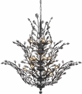 Elegant V2011G41DB-RC Orchid Dark Bronze 41  Chandelier Light