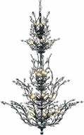 Elegant V2011G54DB-RC Orchid Dark Bronze 41  Chandelier Lamp