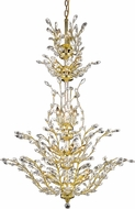 Elegant V2011G54G-RC Orchid Gold 41  Chandelier Light