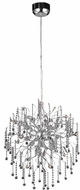 Elegant V2075D28C-RC Astro Chrome Halogen 28  Chandelier Lighting
