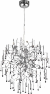 Elegant V2075D33C-RC Astro Chrome Halogen 33  Lighting Chandelier
